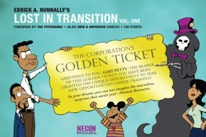 Lost In Transition, Vol. 1: The Golden Ticket by Errick A. Nunnally